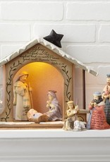 Enesco Foundations Nativity Set