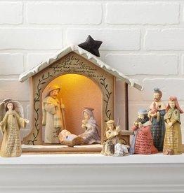 Enesco Foundations Nativity Set