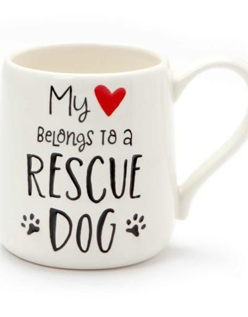 Enesco ONIM Mug - Heart Rescue Dog