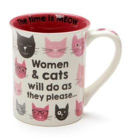 Enesco ONIM Mug - Pink Kitties