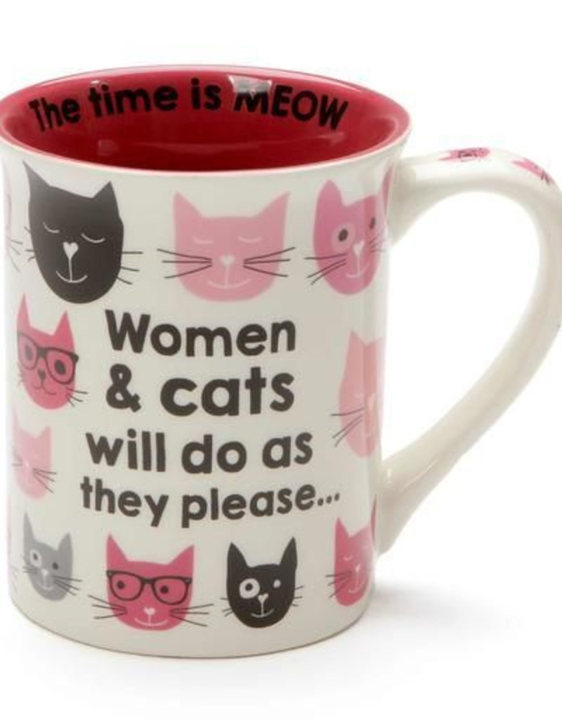 Enesco ONIM Mug - Pink Kitties