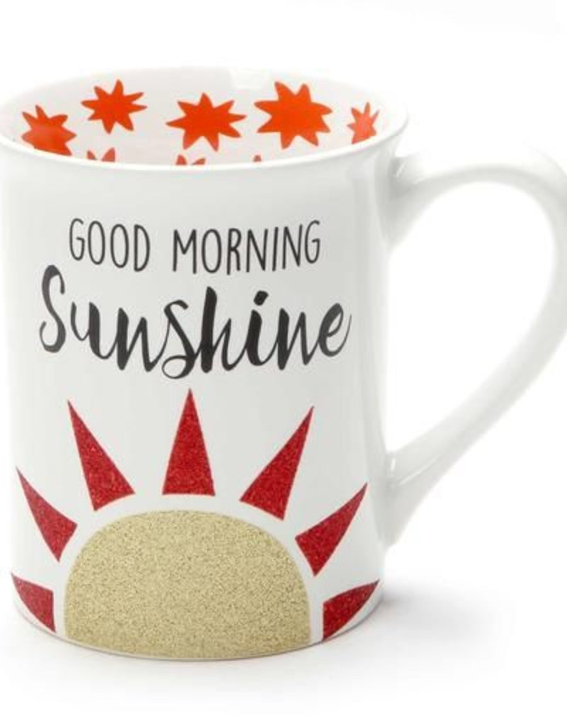 Enesco ONIM Mug - Good Morning Sunshine, Glitter