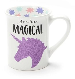 Our Name Is Mud ONIM Mug - Magical Unicorn, Glitter