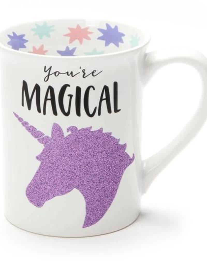 Enesco ONIM Mug - Magical Unicorn, Glitter