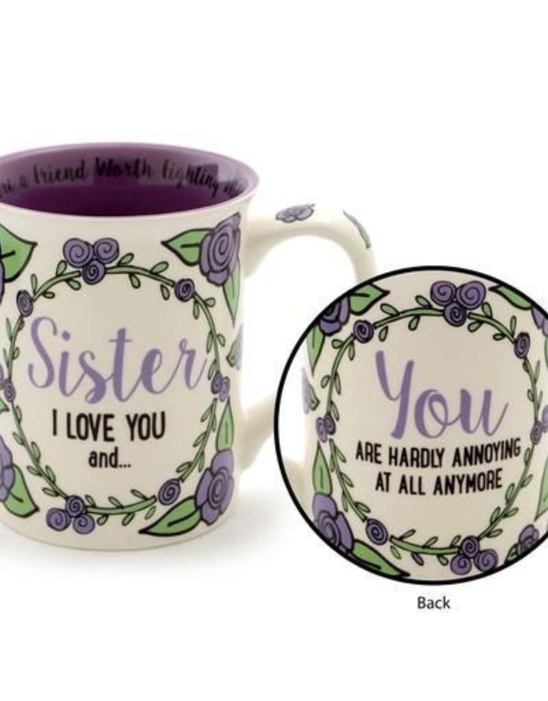 Enesco ONIM Mug - Sister I Love You