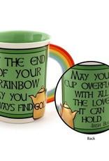 Enesco ONIM Mug - Irish Rainbow