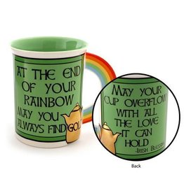 Enesco ONIM Mug - Irish Rainbow