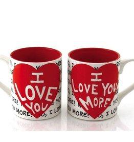 Enesco ONIM Mug Set - I Love You