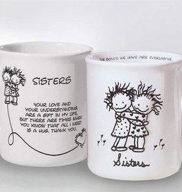 Children of the Inner Light C I L Mug - Sisters (Hugging)