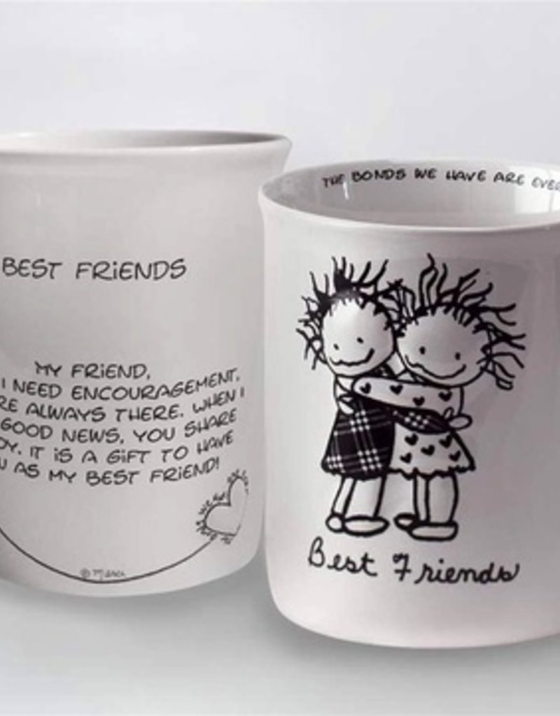 Children of the Inner Light C I L Mug - Best Friends