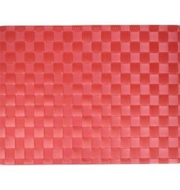 Port-Style Rect Placemat Ruby Red 30x40cm