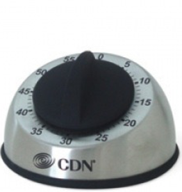 CDN Heavy Duty Mechanical Timer Silver
