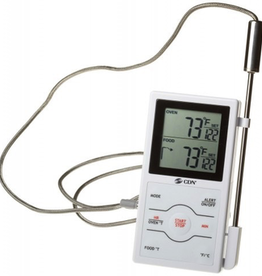 CDN Therm Digital Probe Dual Sensing & Timer 32 - 572F/0 - 300C
