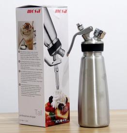 MOSA Cream Whipper 1 Qt/1 L, Aluminum