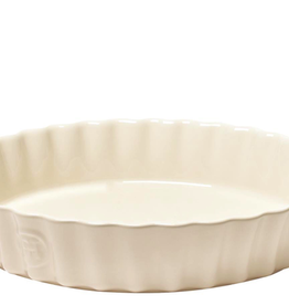 Emile Henry Deep Flan Dish, 30cm, Argile