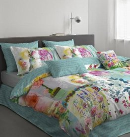 Intermark Flowerbomb Queen Duvet Cover Set