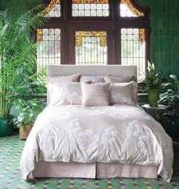 St. Geneve Portia Natural Duvet Cover Set, Queen (2 Shams + 2 Capri Suede PC)