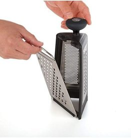 PL8 Tower Grater w/Removable Panels, S/S Black