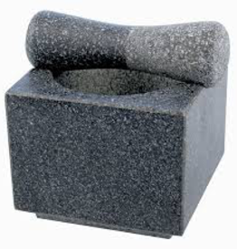 Swissmar Swissmar Mortar & Pestle (Granite) -Wasabi-