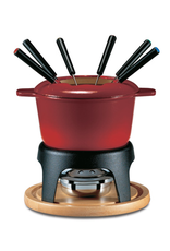 Swissmar Sierra 11Pc Cast Iron Fondue Cherry