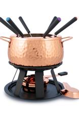 Swissmar Biel 11 Pc Copper Fondue Set