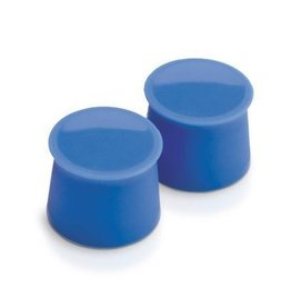 Tovolo Silicone Wine Caps Set/2 - Capri Blue