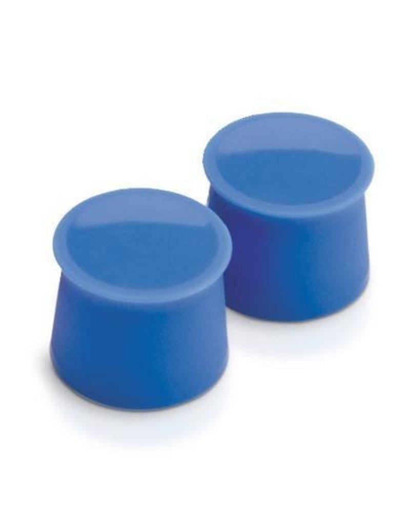 Tovolo Silicone Wine Caps Set/2 - Capri Blue