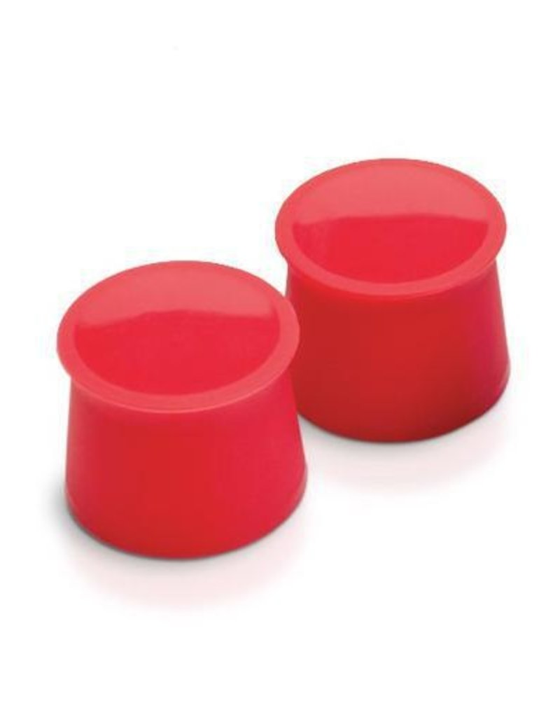 Tovolo Silicone Wine Caps Set/2 - Candy Apple