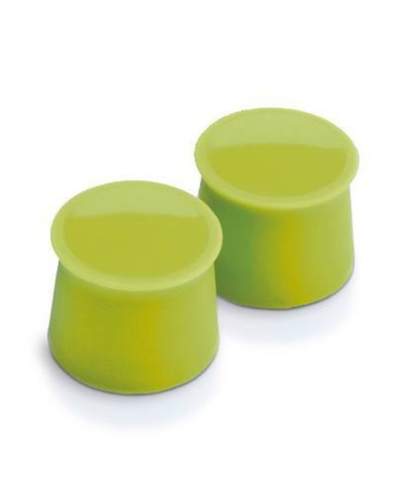 Tovolo Silicone Wine Caps Set/2 - Spring Green