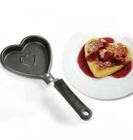 Norpro Heart Shape Pancake Pan, Non-Stick