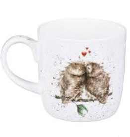 Royal Worcester Wrendale Mug: Birds of a Feather (Owls)