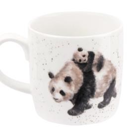 Royal Worcester Wrendale Mug: Bamboozled Panda Mug