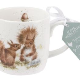 Royal Worcester Wrendale Mug: Between Friends