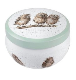 Royal Worcester Wrendale Boutique Candle Tin: What A Hoot