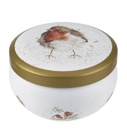 Royal Worcester Wrendale Boutique Candle Tin: Jolly Robin
