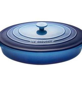 Le Creuset 3.5 L Oval Casserole w/Lid, Blueberry