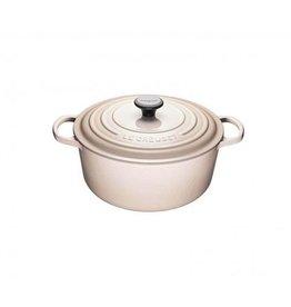 Le Creuset 4.2 L Round French Oven, Meringue