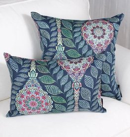 Marie Dooley Ophélie Throw Pillow/Cushion, 18x18″/46x46cm