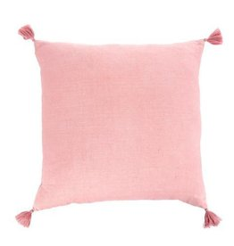 Indaba Nala Linen Cushion/Throw Pillow, Rose, 20x20""