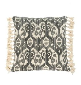 Indaba Oceana Cushion/Throw Pillow, Grey, 20x20""