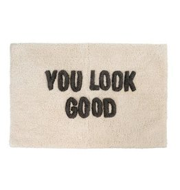 Indaba You Look Good Bath Mat, 20x30""