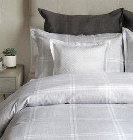 Cuddle-Down Anja Lt Grey Duvet Cover Set King