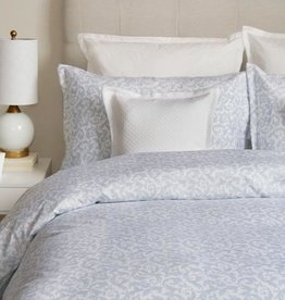 Cuddle-Down Love Story Blue Duvet Cover Set Queen
