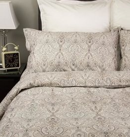 Cuddle-Down Seneca Double Duvet Cover Set w/2 Shams