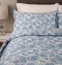 Cuddle-Down Bali Queen Duvet Cover Set w/2 Shams