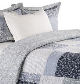 Brunelli (HB Promotion Inc) Laurie Double/Queen Quilt Set w/ 2 Shams, 88x90""