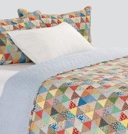 Brunelli (HB Promotion Inc) Gina Double/Queen Quilt Set w/ 2 Shams, 88x90""