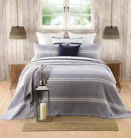 Brunelli (HB Promotion Inc) Hampton King Quilt Set w/ 2 King Shams, 104x100""