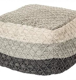 Brunelli (HB Promotion Inc) Knitted Pouffe/Ottoman, Enzo Collection, 22x22""