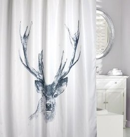Moda at Home Alberta (Deer Print) Shower Curtain, 71x71""